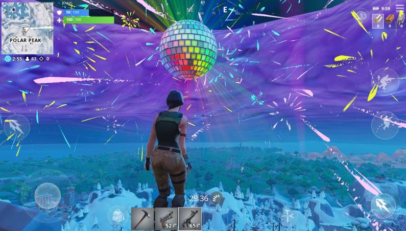 Fortnite New Year's Eve event