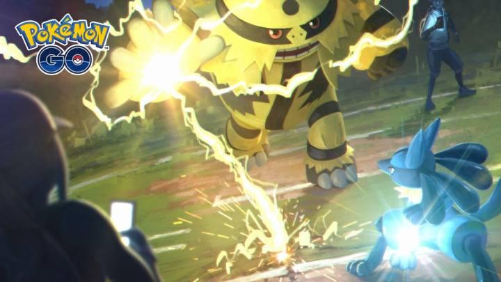 Pokemon Go Trainer Battles