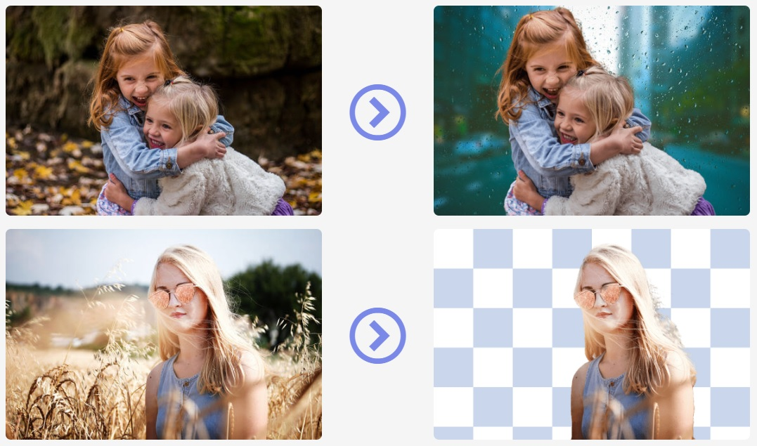 This site automatically removes the background of any image in 5 seconds flat