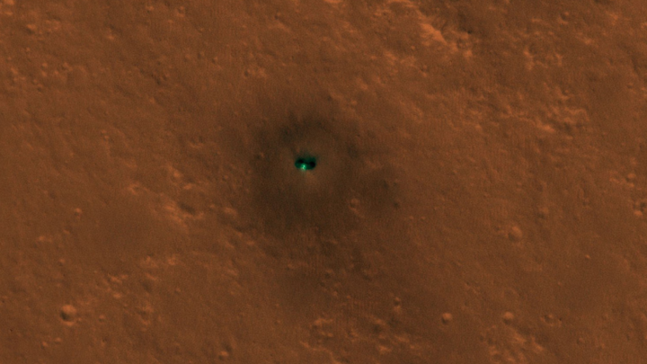 mars insight photos