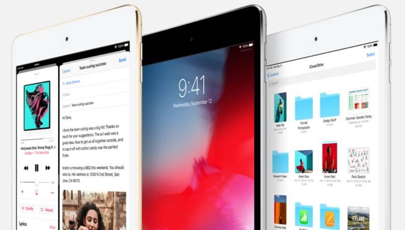 Foldable iPad