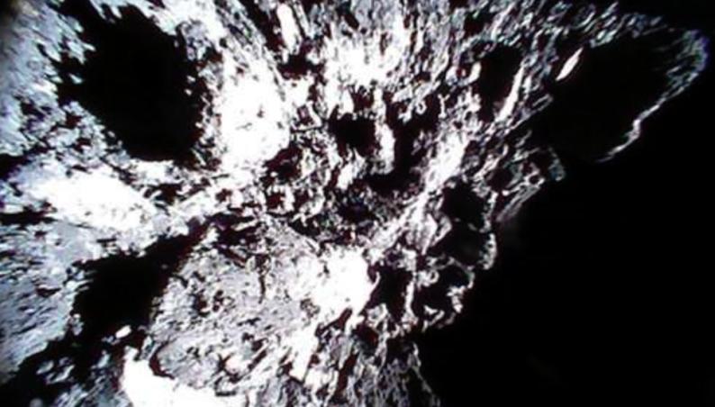 asteroid touchdown