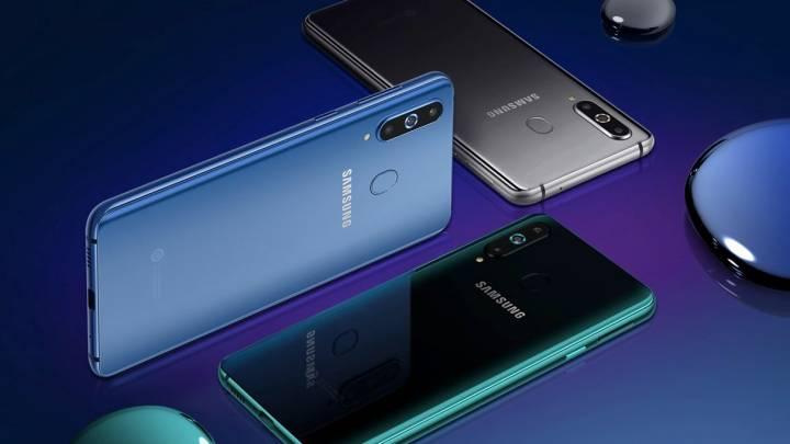 Galaxy A8s vs. Galaxy S10