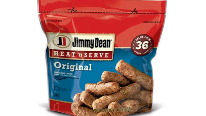 jimmy dean sausage recall