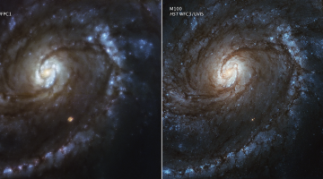 hubble servicing before after