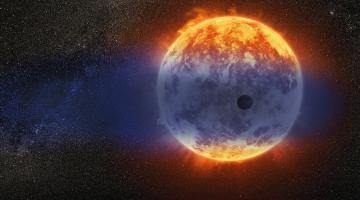 exoplanet vaporized