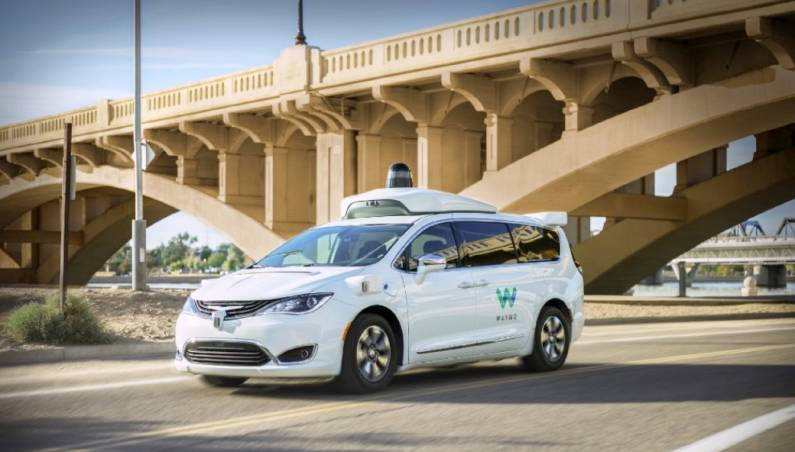 Waymo One Self-driving Taxi