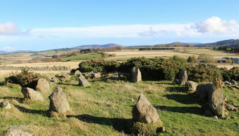 stone circle scotland