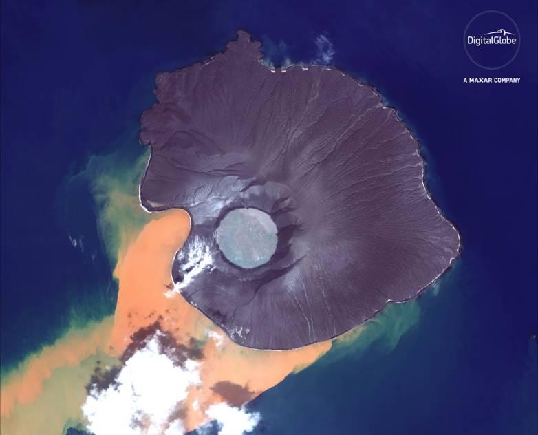 Indonesia volcano
