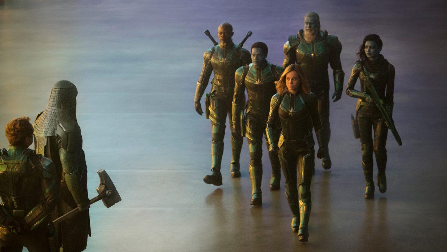 Captain Marvel easter eggs