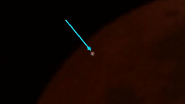 moon meteoroid
