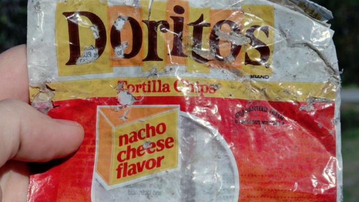 Doritos Bag In Ocean
