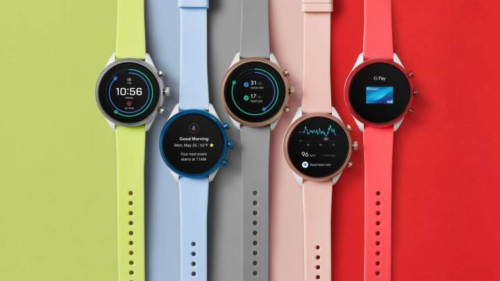 Fossil smartwatch Google