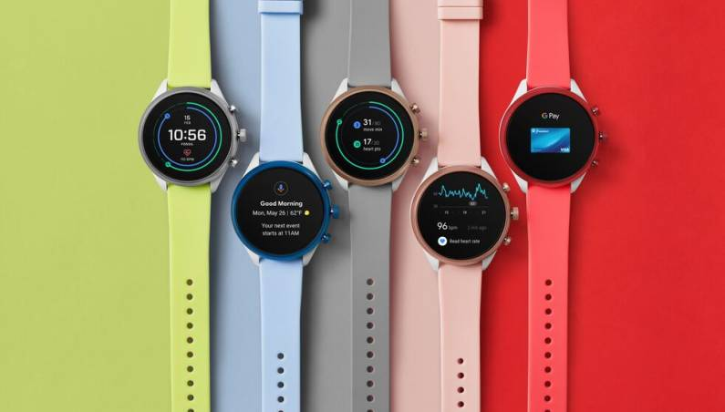 Fossil smartwatch Google