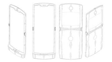 Motorola RAZR foldable display