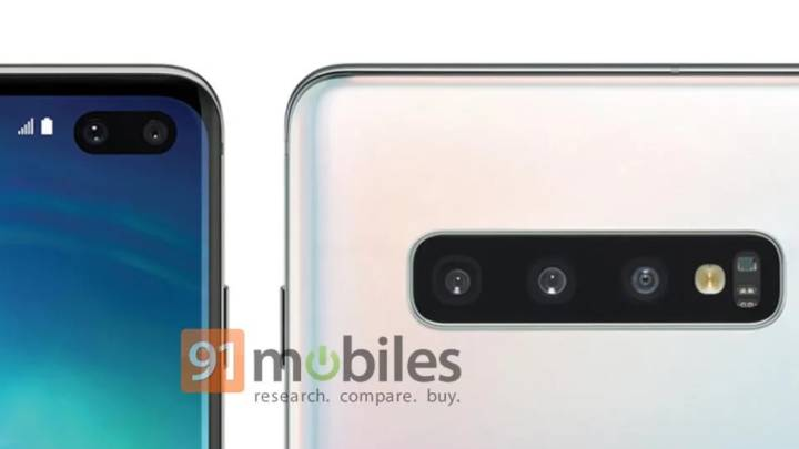Galaxy S10 color options
