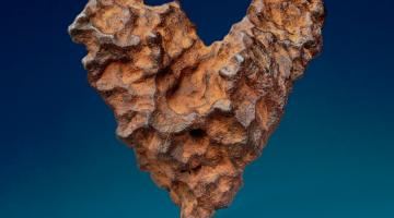 heart meteorite