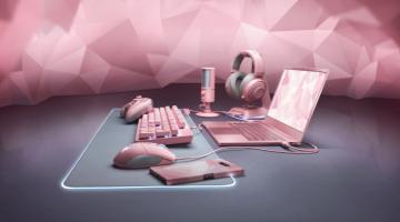 Razer pink laptop