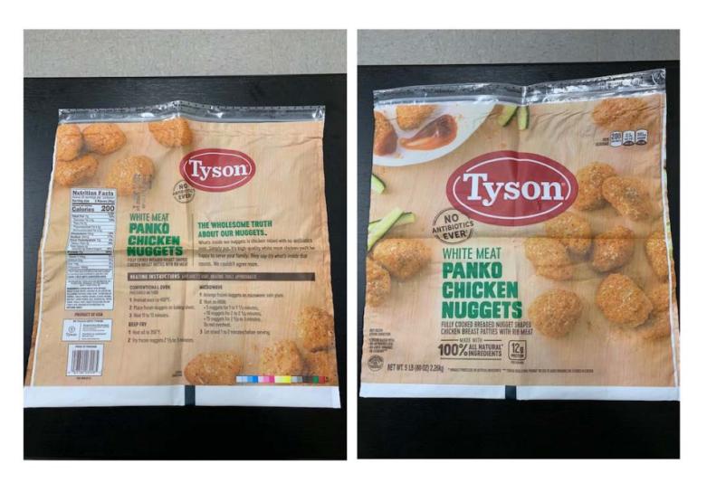 chicken nugget recall