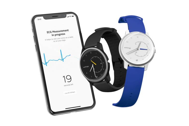 Withings watch ECG