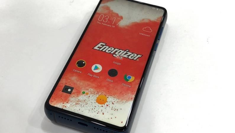 18,000 mAh Battery Phone