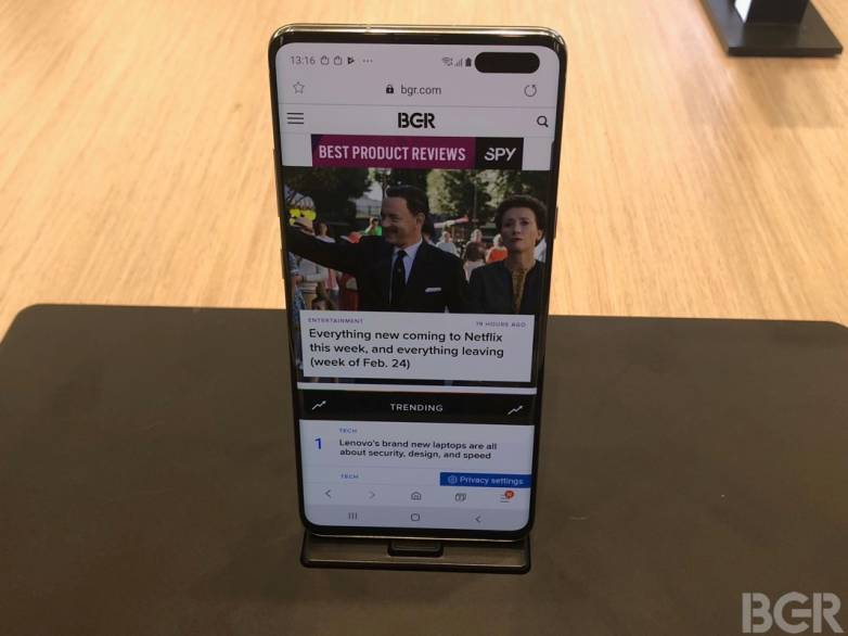 Galaxy S10 5G Hands-on