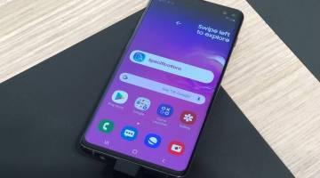 Samsung Galaxy S10 plus rating