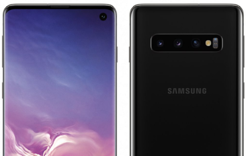 Galaxy S10 leaked renders