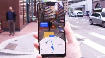 Google Maps AR feature