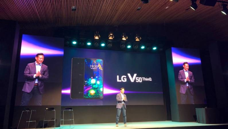 LG V50 ThinQ Release Date