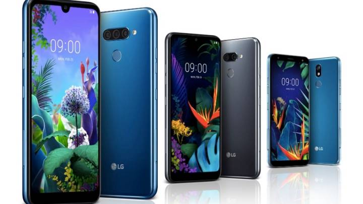 LG G8 ThinQ vs. Q60 vs. K50