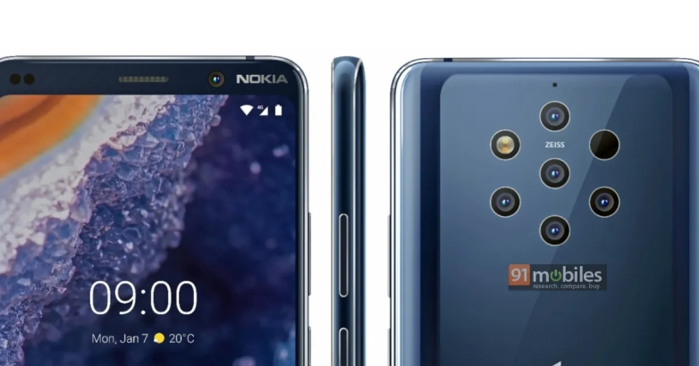 Nokia 9 PureView leaked images