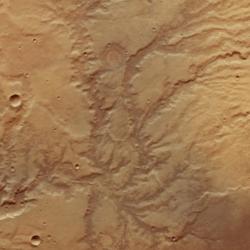 mars rivers