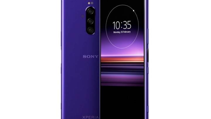 Sony Xperia 1 MWC 2019