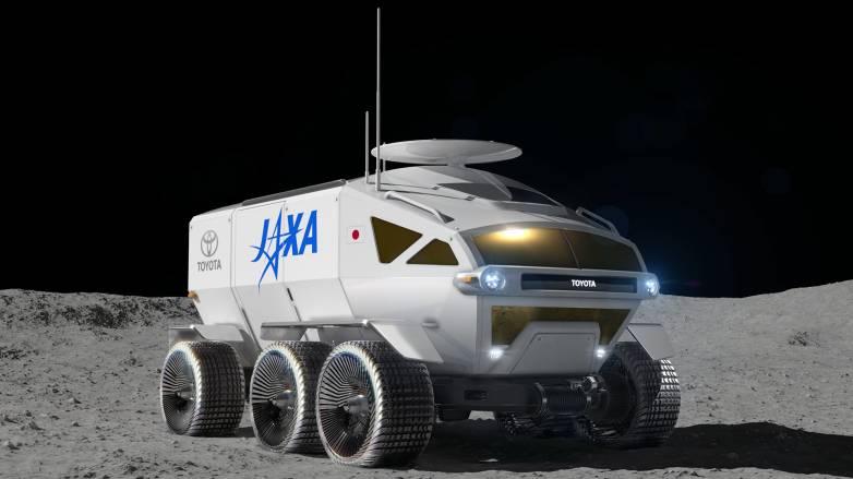 toyota lunar rover