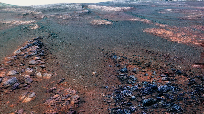 mars opportunity last photo