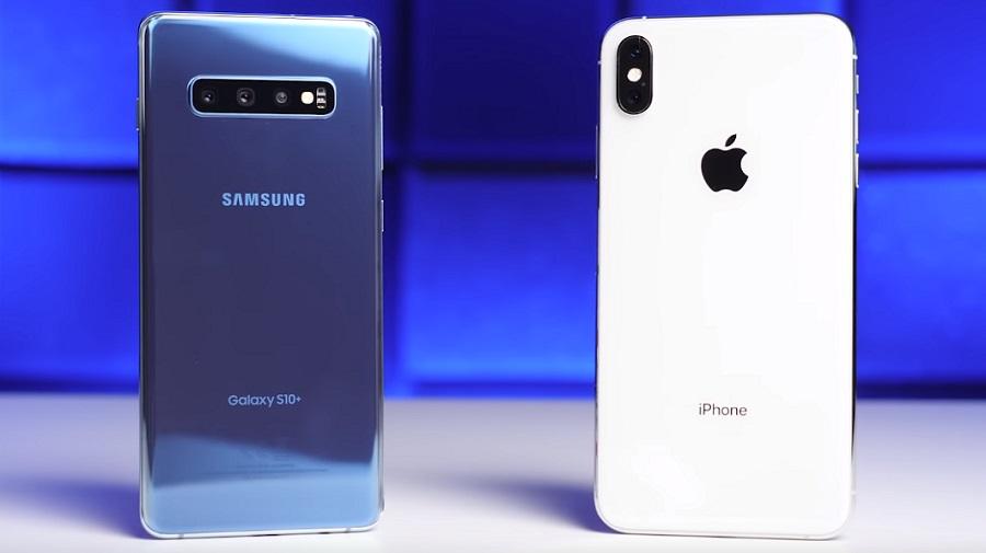 iPhone XS Max Vs Galaxy S10 Plus