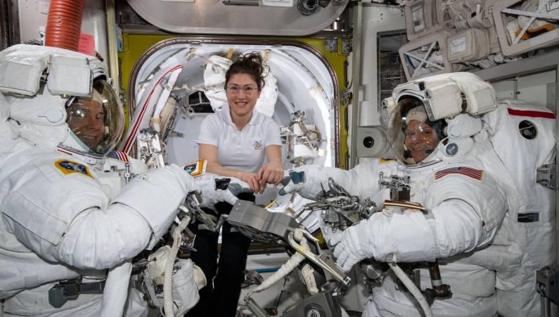 spacewalk suit problem
