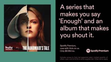 Spotify Premium: Free Hulu