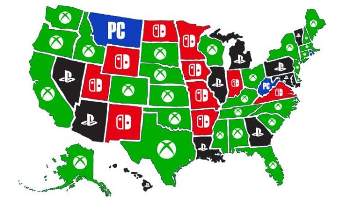 Most popular game consoles