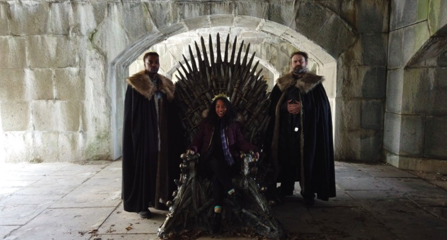 Iron Throne scavenger hunt