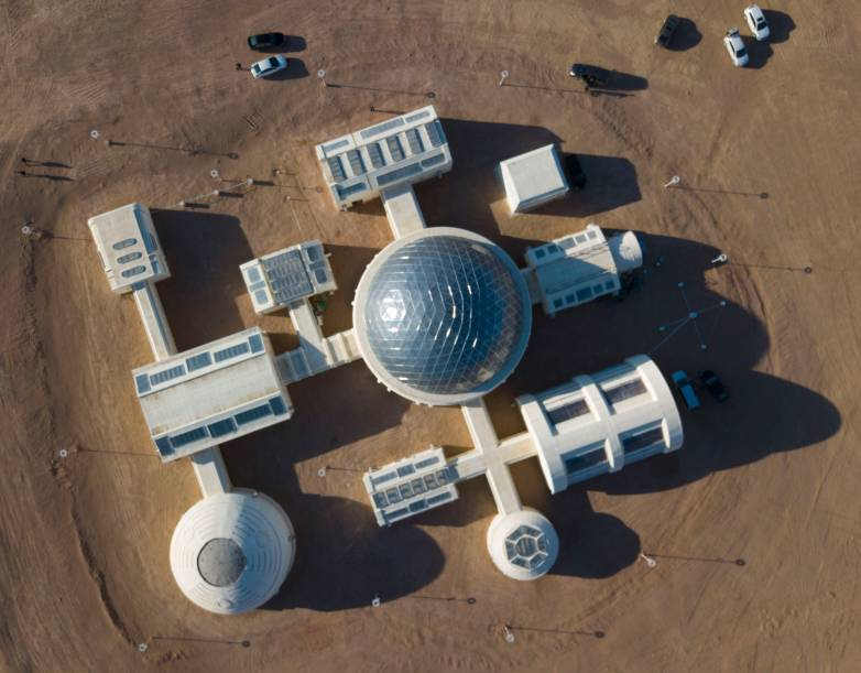 mars base on earth