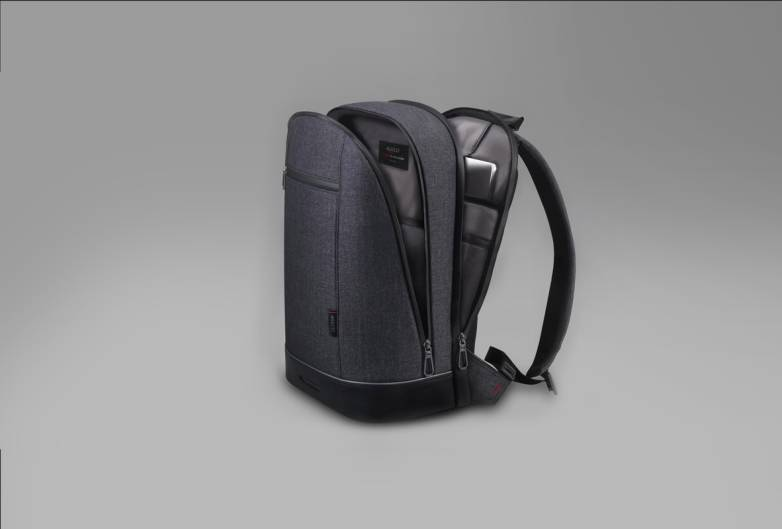 Backpack With Fingerprint Sensor