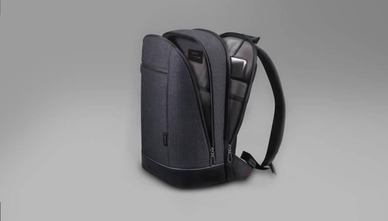 Backpack With Fingerprint Sensor