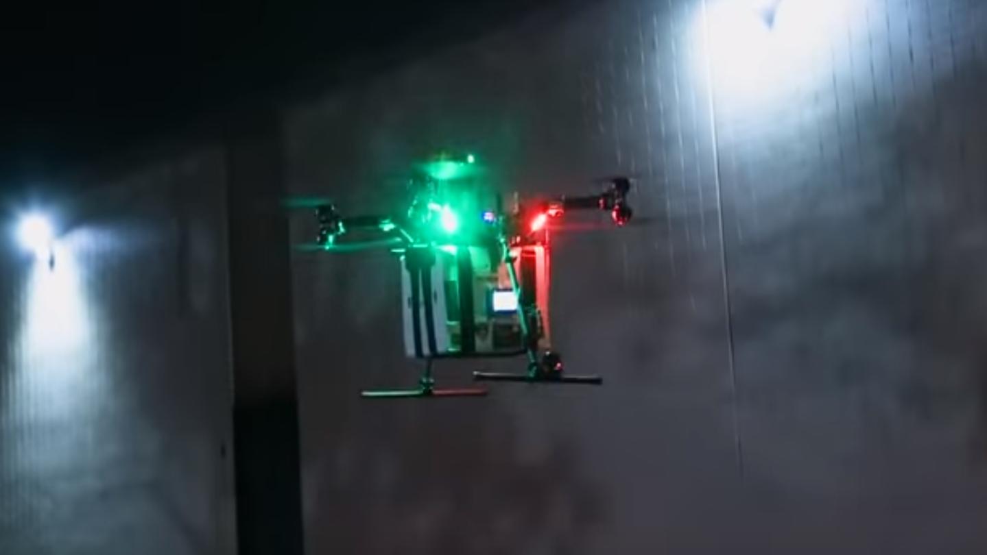 drone organ delivery