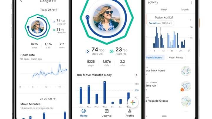 Google Fit app