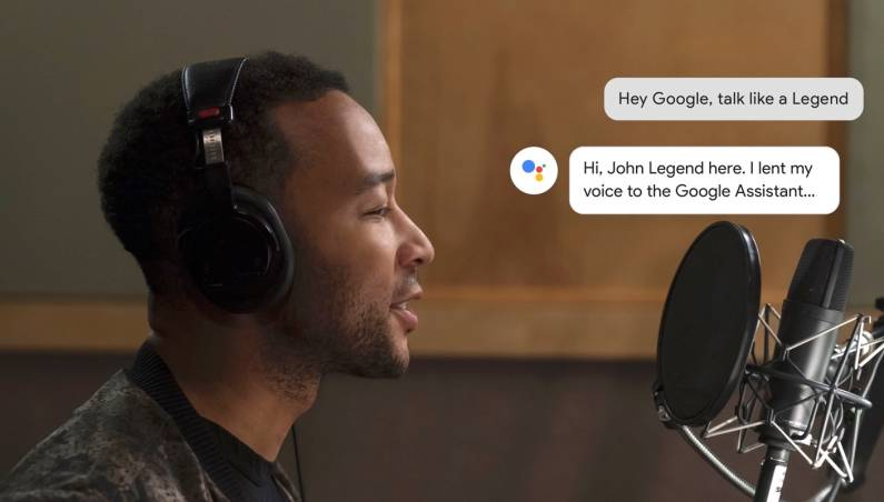 Google Assistant John Legend