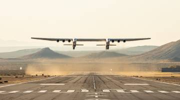 stratolaunch test flight