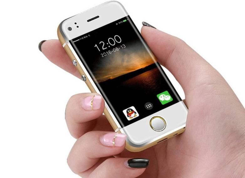 World's Smallest Smartphone