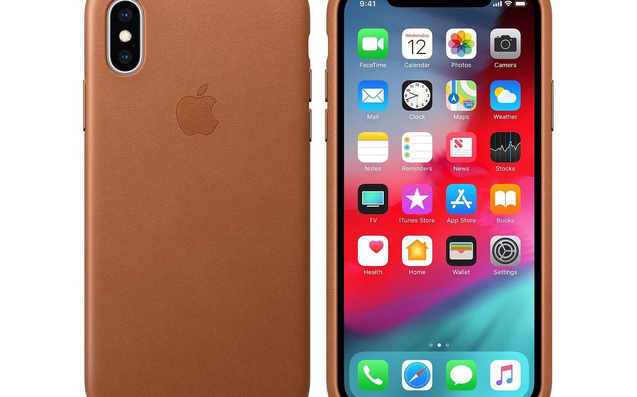 Apple Leather iPhone Case